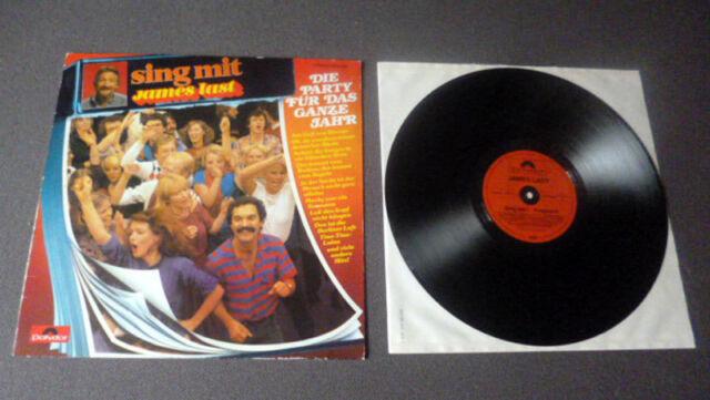 LP James Last - Sing mit 7 Potpourri | Die Party Für Das Ganze Jahr | Polydor