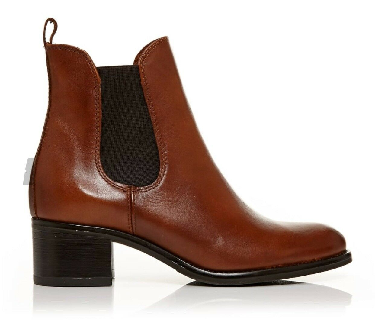 Moda In Pelle Colona Chelsea Tan Leather Chelsea Colona Boots Eu 38 95e10c