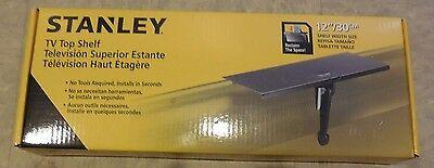 Medium 12-inch Width Stanley ATS-112 Universal TV Top Shelf