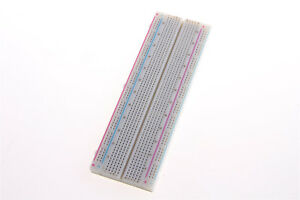 MB-102 MB102 830 Points Breadboard Solderless PCB Protoboard Board Test DIY