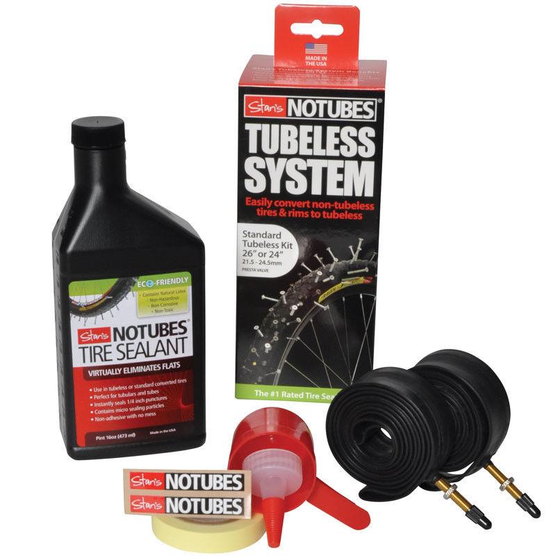 Stans Notubes Standard Bike MTB Tubeless Kit System Stan's