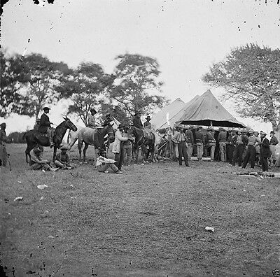 Union Soldiers building bridge Rappahannock Fauquier Va 8x10 US Civil War Photo