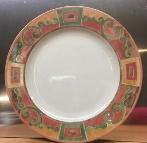"PTS // Interiors CATALINA Salad plate set Very good s 8 1//8/"" Stoneware of 4"