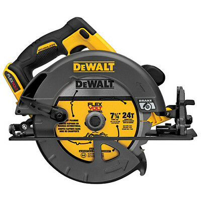 DEWALT FlexVolt 60V MAX Li-Ion 7-1/4 in. Circular Saw (Bare Tool) DCS575B new