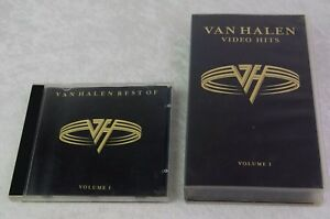 Van Halen Video Hits VHS amp Best of CD Volume 1  1996 - GLASGOW, United Kingdom - Returns accepted Most purchases from business sellers are protected by the Consumer Contract Regulations 2013 which give you the right to cancel the purchase within 14 days after the day you receive the item. Find out more about  - GLASGOW, United Kingdom