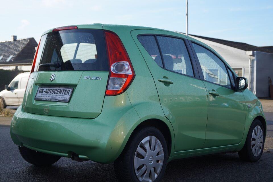 Suzuki Splash 1,2 GLS Benzin modelår 2010 km 77000