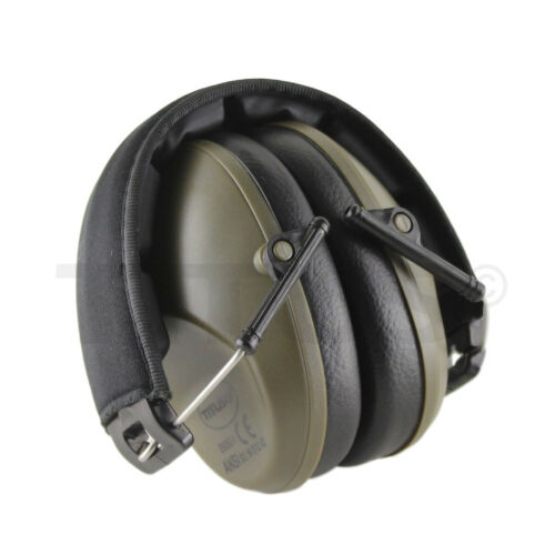 34 NRR SHOOTING FIRING GUN RANGE NOISE REDUCTION EAR MUFFS HEARING PROTECTION
