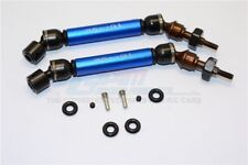 GPM Racing Traxxas Slash 4x4 Steel & Aluminium Front CVD Drive Shaft Blue