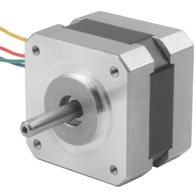 CNC Nema17 Hybrid Stepper Motor, 1.8 Degree DC 2-Phase 4-Lead Motor