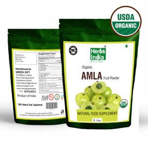 Organic-Amla-Powder-Indian-Gooseberry-16-Oz-1-lb-Premium-Quality-US-Seller