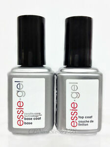 Essie Gel Base Amp Top Coat Combo Uv Led Gel Polish 12