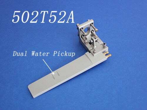 CNC Aluminum Boat Rudder 160mm length dual water pickup for 23-26cc boat 502T52A