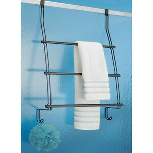 Shower Door Towel Bar Caddie Oil Rubbed Bronze Ebay
