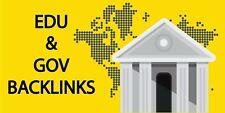 Build 20 Us Based Edu Gov Authority Backlinks For Google Seo
