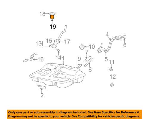 HYUNDAI OEM 99-05 Sonata-Fuel Tank Vent Valve 3115538100