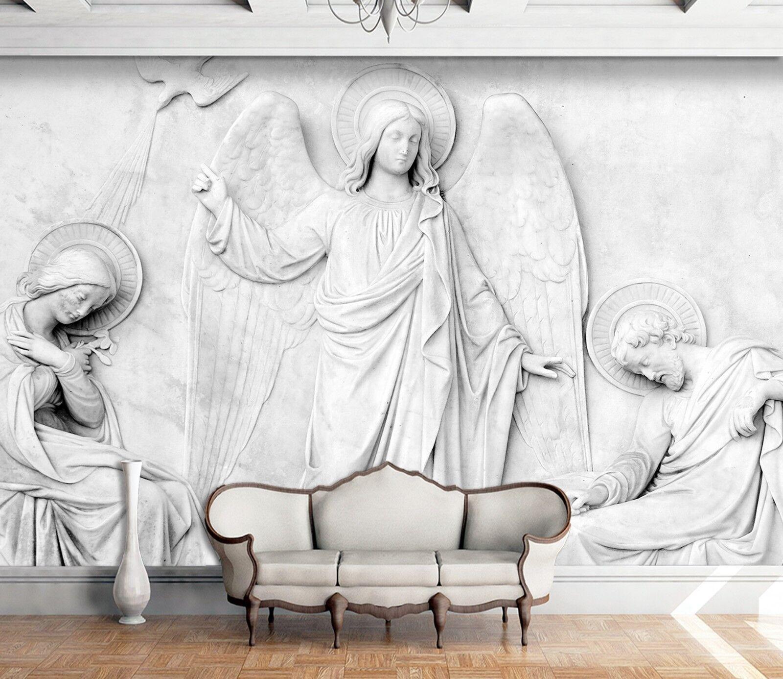 3D Wiener Engel Skulptur 22 Tapete Wandgemälde Tapete Tapeten Familie Kinde DE