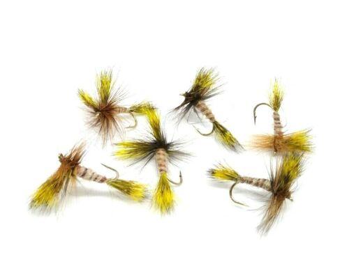 Black Wulffs Irish UK Mayflies River Lake Reservoir Trout Fly Fishing Dry Flies