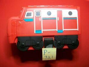 COLLECTIBLE CHUGGINGTON STORAGE CARRIER CASE RED LOCOMOTIVE ENGINE TRAIN TRAVEL