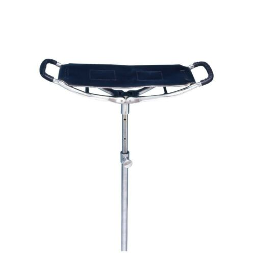EquiRoyal Spectator Seat Stick Adjustable Heavy-Duty Chrome Compact Lightweight