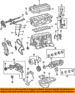 toyota oem 96 00 rav4 engine oil pump 1510074050 ebay Toyota RAV4 Air Conditioner Diagram image is loading toyota oem 96 00 rav4 engine oil pump