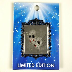 Details About Disney Acme Hot Art Fashionably Foul Pin Ursula And Maleficent Le 300 Oc Wicked