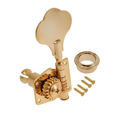 4l bass tuners tuner 4 string guitar tuning pegs keys machine heads screw gold 634458836920 ebay. Black Bedroom Furniture Sets. Home Design Ideas
