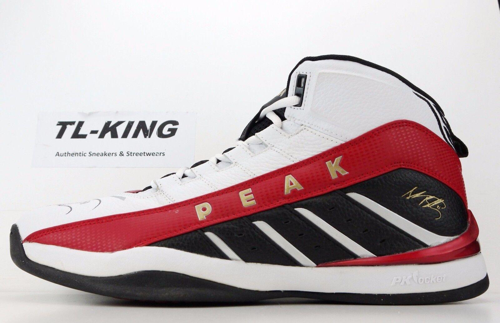 Peak Shane Battier Player Exclusive 15 PE Signed Shoes sz 15