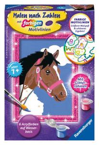 Malen & Zeichnen-Sets für Kinder Majestätischer Tiger Spiel Deutsch 2017 Mal- & Zeichenmaterialien für Kinder Malen nach Zahlen