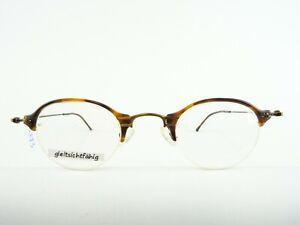 Lanvin-Men-039-s-Glasses-Frames-Pantobrille-Horn-Optics-Designergestell-Size-L