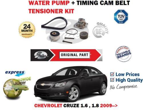 FOR CHEVROLET CRUZE 1.6 1.8 2009--/> WATER PUMP TIMING CAM BELT TENSIONER KIT