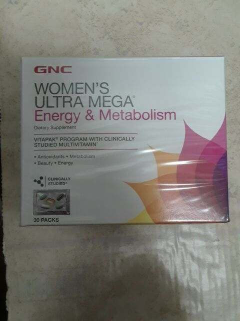 gnc mega woman metabolism