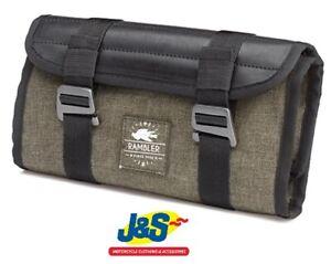 Presidente Llevar Continuo  Kappa RB102 Rambler Tool Roll Motorcycle Luggage Bag Pack Biker Olive Green  J&S   eBay