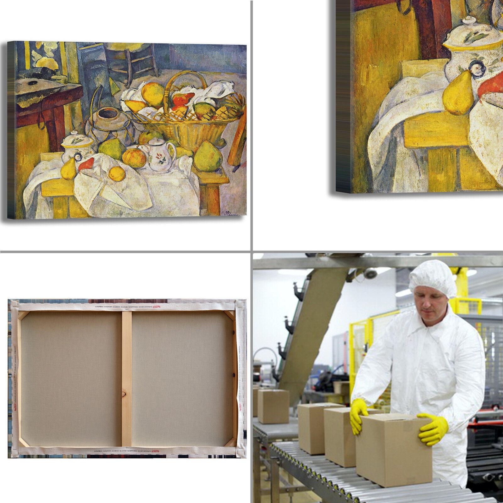 Cezanne natura morta dipinto 55 design quadro stampa tela dipinto morta con telaio arRouge o casa 7fe77d