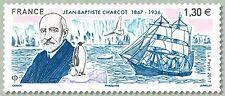 France 2017 Jean Baptiste Charcot 1867 1936 antarctic boat pinguin bird 1v mnh