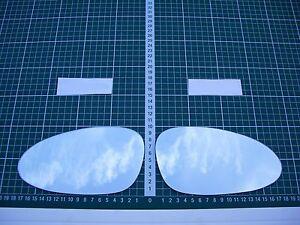Außenspiegel Spiegelglas Ersatzglas Audi-Porsche RS2 ab 1994-1996 Li oder Re sph