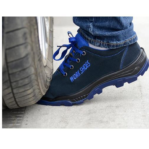 Viral Casual Work shoes Safety Steel Toe Warm Breathable Boots Men - LOW PRICE