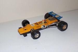 VINTAGE-Messico-POLITOYS-McLaren-Formula-ART-F8-METALLO-SCALA-1-32