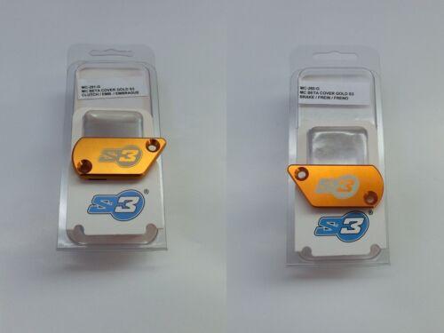 MC-291-G  Gold S3 Deckel Set für Beta Trial /> Grimeca Armatur MC-260-G