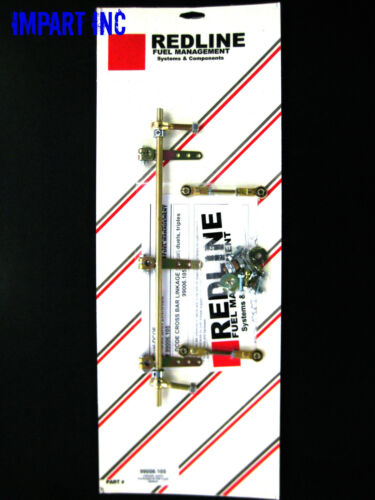 45 DCOE Cross Bar Universal Linkage 99006.105 Weber Redline Dual Carb 40 42