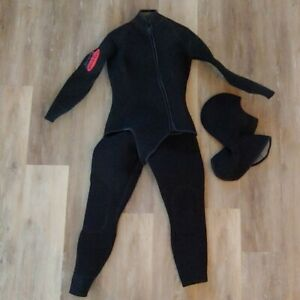 SAS-Women-039-s-Titanium-2-Piece-Custom-Wetsuit-Size-L