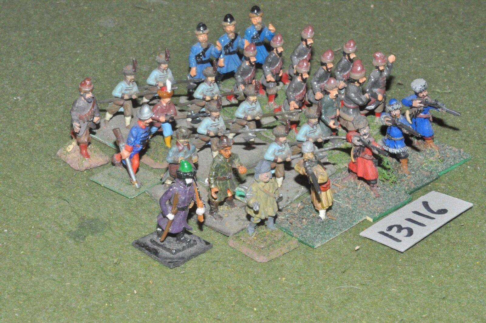 25mm renaissance   polish - infantry 30 figures - inf (13116)