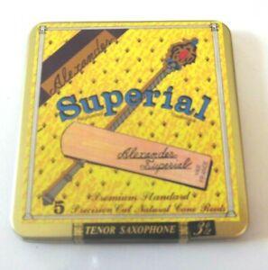 Alexander Reeds ance sax tenore Superial 3.5 box da 5