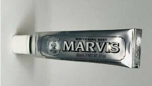 Marvis-Toothpaste-Whitening-Mint-10ml-NEW-amp-SEALED-Travel-Size