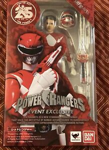 Sdcc 2018 Tamashii Nations S.h.   Figuarts Red Power Ranger Bandai Bluefin 25ème
