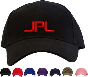 81997108903 Image is loading JPL-Embroidered-Baseball-Cap-Available-in-7-Colors-