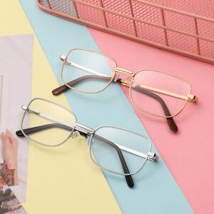 Unisex-Reading-Glasses-Strength-1-0-to-4-0-Gold-Frame-Vision-Care-Eyeglasses