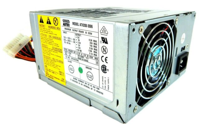 Astec 200w Power Supply ATX200-3506 663627-101