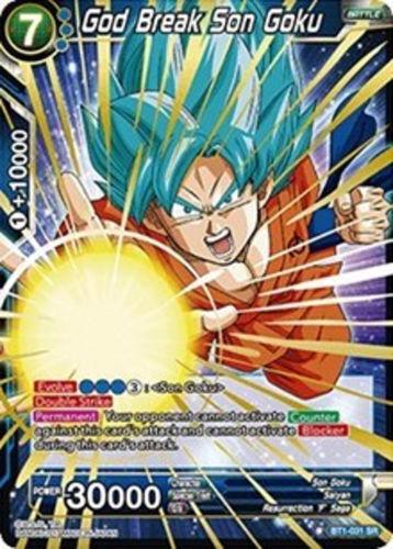 Dragon Ball Super TCG God Break Son Goku BT1-031 SR super rare