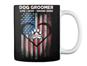 Dog Groomer Live And Love - * Groom Dogs Gift Coffee Mug
