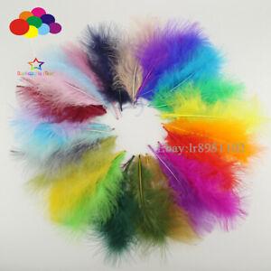 100-Pcs-Turquie-plume-36-couleur-10-15-cm-4-6-in-A-faire-soi-meme-Craft-plumage-Carnaval